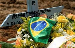 Em novo recorde, Brasil completa 40 dias com média de mortes acima de mil (Foto: ARquivo/AFP)