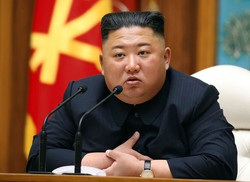 Coreia do Norte perde desculpas por matar sul-coreano (Foto: STR / KCNA VIA KNS / AFP)