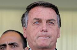 Em meio a recordes de devastação, Bolsonaro e Mourão insistem em minimizar queimadas (Foto: SERGIO LIMA / AFP )