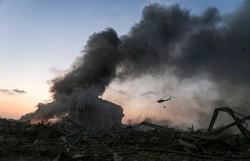 Gases tóxicos após explosão em Beirute podem levar a danos nos pulmões (Foto: STR / AFP)