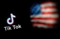 TikTok consegue prorrogação e continua operando nos EUA temporariamente (Foto: NICOLAS ASFOURI / AFP)