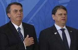 Bolsonaro sobre Tarcísio: 'Se vier candidato por São Paulo, nem precisa fazer campanha' (crédito: José Cruz/Agência Brasil)