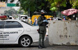 Venezuela estende pela quinta vez 'estado de alerta' pela Covid-19 (Foto: Federico Parra/AFP. )
