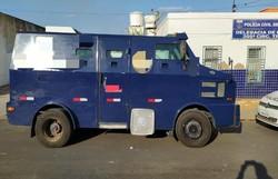 Assaltantes tentam furtar carro forte próximo à Araripina (Foto: Divulgação)