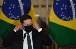 Mourão diz que desenvolvimento sustentável depende do setor privado (Foto: EVARISTO SA / AFP )