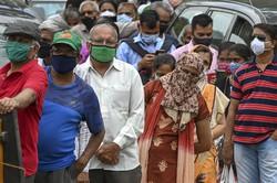 Índia registra recorde mundial de casos de coronavírus em 24 horas (Foto: Punit PARANJPE / AFP)