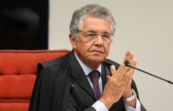 Marco Aurélio defende voto eletrônico: 'Não tivemos uma única impugnação' (Foto: Nelson Jr./SCO/STF)