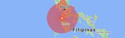 Terremoto de magnitude 6,7 atinge as Filipinas  (Foto: Reprodução/Google)
