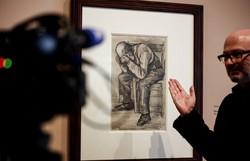 Desenho de Van Gogh de 1882 será exibido pela primeira vez em Amsterdã (Foto: Kenzo Tribouillard/AFP)