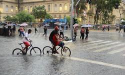 Tempestade colocou capital paulista em atenção para alagamentos (Foto: Rovena Rosa/Agência Brasil)
