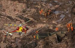 Tragédia em Brumadinho: ribeirinhos e produtores ainda lutam por água potável (Foto: Arquivo/ AFP)