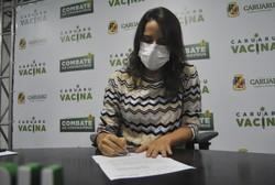 Prefeitura de Caruaru assina Manifestação de Interesse para a aquisição de vacinas (Foto: Elvis Edson/Divulgação)