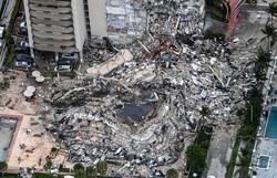Um morto e 99 desaparecidos em desabamento parcial de prédio na Flórida (Foto: Chandan Khanna/AFP)