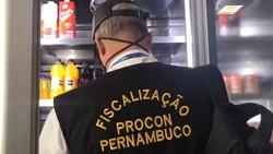 Mercados, padarias e açougues do Recife são fiscalizados pelo Procon-PE (Procon-PE/Divulgação)
