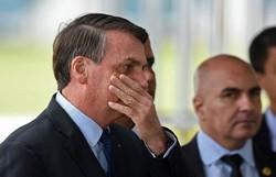 Bolsonaro passa por cirurgia na manhã desta sexta-feira no Albert Einstein em SP (Foto: Evatisto Sa/AFP )