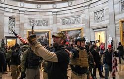 Informe critica polícia no episódio da invasão ao Capitólio dos EUA (Foto: Saul Loeb/AFP)