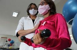 HCP destaca importância da fisioterapia na recuperação do câncer de mama (Foto: Eduarda França/HCP )