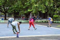 Usuários aprovam volta às atividades em Academias da Cidade (Foto: Gabriela Teixeira / Esp. DP FOTO)