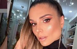 Flávia Viana diz que Bruno, da dupla com Marrone, se desculpou após constrangê-la em live (Foto: Reprodução / Instagram)