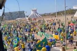 """Em manifestação, Bolsonaro ataca sistema eleitoral: """"Há indício fortíssimo de manipulação"""" (Foto: Reprodução)"""
