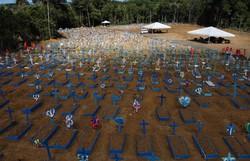 Covid-19: Brasil registra mais de mil mortes pelo quarto dia seguido (Foto: Michael Dantas/AFP)
