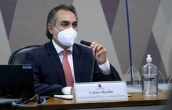 Gerente da Pfizer confirma carta a Bolsonaro em setembro de 2020 (crédito: Edilson Rodrigues/Agência Senado )