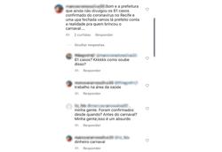 Prefeitura do Recife presta queixa contra internauta que divulgou notícia falsa sobre coronavírus (Foto: Reprodução)