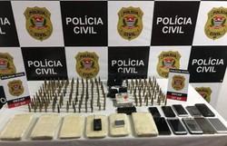 Polícia prende 9 suspeitos de assalto a banco em Criciúma (Foto: Polícia Civil/divulgação)