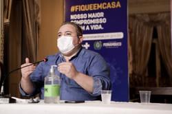 André Longo: 'Tendência é começar a (próxima) semana sem fila para UTI'   (Foto: Heudes Regis/SEI/Divulgação)
