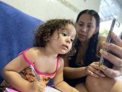 Isolamento social impacta no desenvolvimento da fala das crianças, aponta especialista (Arquivo pessoal / Suelayne / Divulgação)