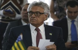 'Enquanto estou segurando, ele vai liberar geral?', diz Caiado sobre decisão de Ibaneis de abrir Brasília (Foto: José Cruz/Agência Brasil)