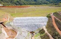 Última barragem a ameaçar buscas dos bombeiros em Brumadinho é estabilizada (Foto: Divulgação/Vale)