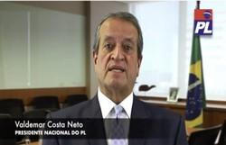Valdemar Costa Neto convida Bolsonaro e filhos a se filiarem ao PL (Foto: Reprodução)