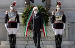 Presidente da Itália alerta que a crise do coronavírus não terminou (Foto: Handout / Quirinale Press Office / AFP)