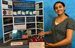 Jovem de 14 anos encontra molécula que impede infecção pela Covid-19 (Foto:  3M)