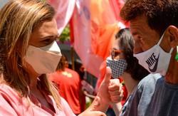 Marília (PT) reforça compromisso com comércio informal e revitalização do Centro do Recife (Fotos: PH Reinaux)