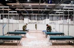 Espanha registra 838 mortos por coronavírus em 24 horas, novo recorde diário (Foto: Handout / COMUNIDAD DE MADRID / AFP)
