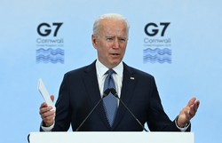 Biden parabeniza novo primeiro-ministro israelense Naftali Bennett (Foto: Brendan Smialowski/AFP)