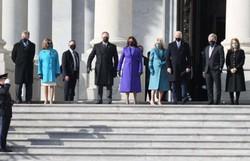 Biden chega ao Capitólio para a posse como 46° presidente dos Estados Unidos (Joe Raedle/Getty Images/AFP)