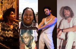 Série de lives mostra processo de composição de artistas e resulta em EP inédito (Foto: Divulgação, Divulgação, Gustavo Bresciani e Azevedo Lobo)