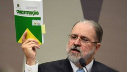 ''Constituição não admite intervenção militar', afirma Aras após entrevista a Bial (Foto: Evaristo Sá/AFP)
