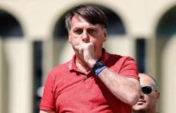 Bolsonaro sobre crise hídrica: 'Nós não pensamos em ensacar o vento' (crédito: Sergio LIMA / AFP)