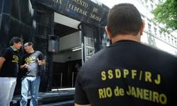 Secretária de Saúde de Magé é presa na Operação Garrote da PF (Foto: Tânia Rêgo / Agência Brasil)