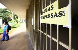 Professores da rede particular de Pernambuco aprovam estado de greve (Foto: Marcelo Camargo/Agência Brasil )