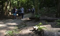 Salles reabre Parque Nacional da Tijuca e defende concessões (Foto: Tânia Rego / Agência Brasil)