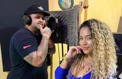 Dani Costa estreia como cantora em parceria com MC Barão (Foto: Divulgação)