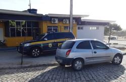 Foragido é encontrado em Cabrobó após arrancar tornozeleira eletrônica (Foto: Reprodução/PRF.)