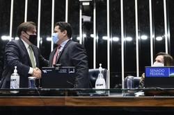 Pressão no Congresso por sessões presenciais com o fim das eleições municipais (FOTO: Edilson Rodrigues/Agencia Senado)