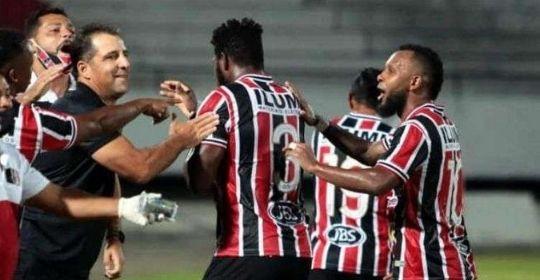 Nas últimas 14 partidas inéditas que fez, Tricolor saiu de campo com vitória em 12  (Rafael Melo/Santa Cruz )