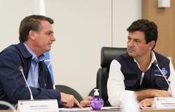Bolsonaro terá reunião individual com Mandetta nesta quarta-feira (Foto: Agência Brasil)